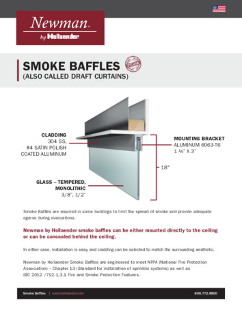 Smoke Baffles Product Data Sheet