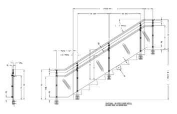 Interna-Rail® VUE Sloped Side Mount