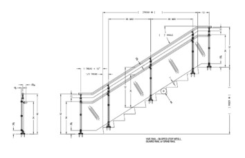 Interna-Rail® VUE Sloped Top Mount